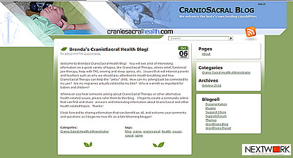 CranioSacral Blog